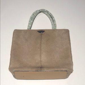 Christian Dior woman's hand bag horse hair see pic